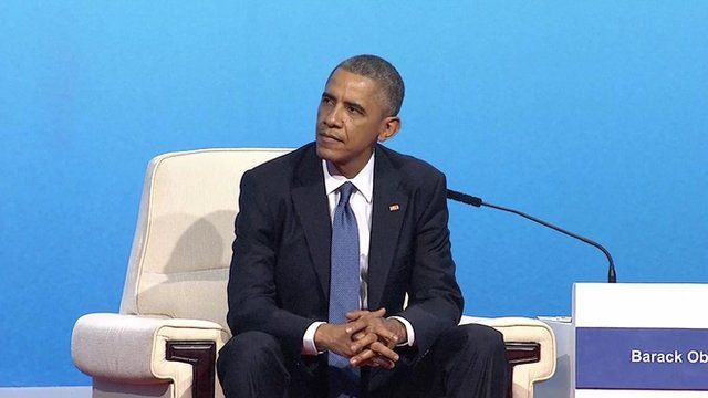 Barack Obama at Apec summit