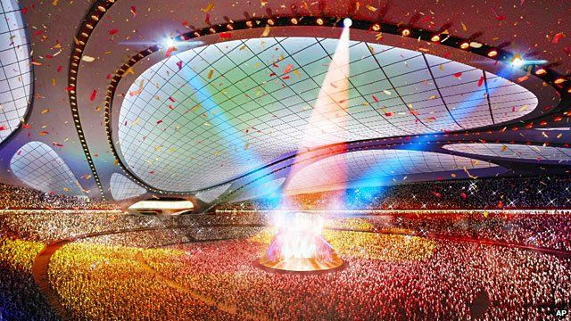 Impression of the 2020 Olympics in Japan