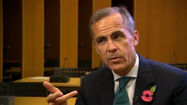 Mark Carney, The Governor of the Bank England