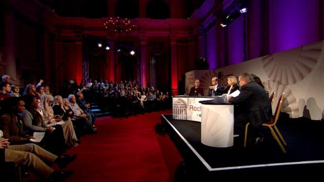 Election debate in Rochester