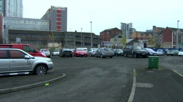 The car was hijacked in a car park just off Dunbar Link in Belfast