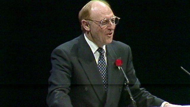 Neil Kinnock in 1992