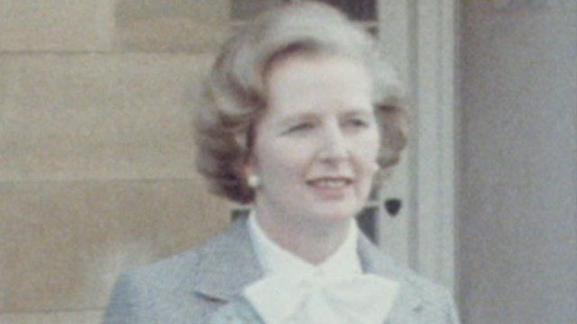 Archive image of Margaret Thatcher