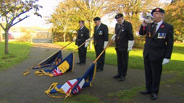 Ceremony to mark Armistice Day