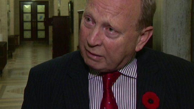 Jim Allister says the mother involved in the crash had contacted him about the dangers walking along that road