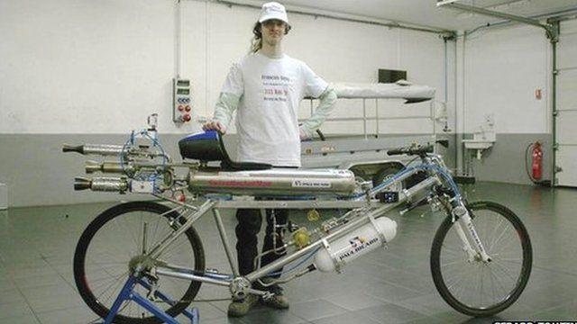 Rocket bicycle