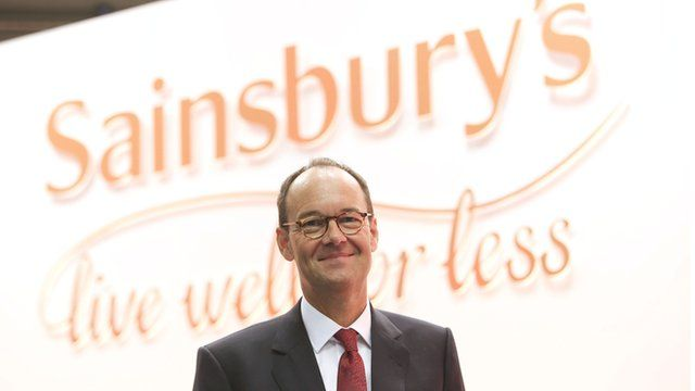 The new Chief Executive of Sainsbury's Mike Coupe