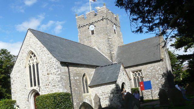 St Tathan Church