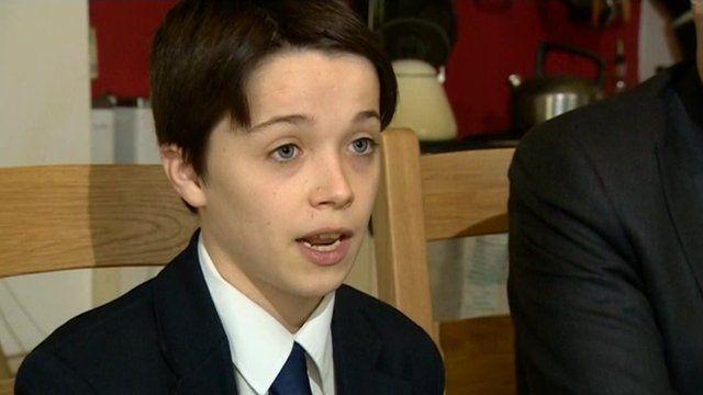 Paul Harris, school pupil