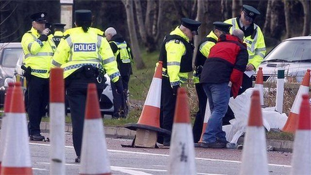 The crash happened on the A1 in County Down on Wednesday morning