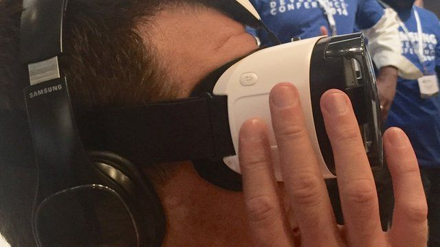 Samsung's VR glasses