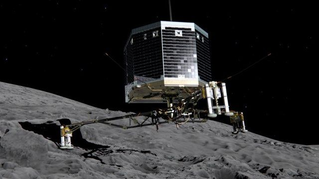 Artistic impression of Philae probe