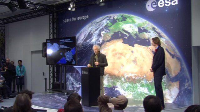 Scientists at ESOC