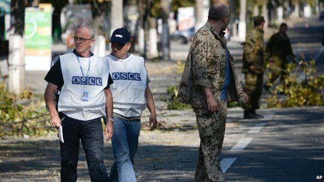 OSCE officials in Russia