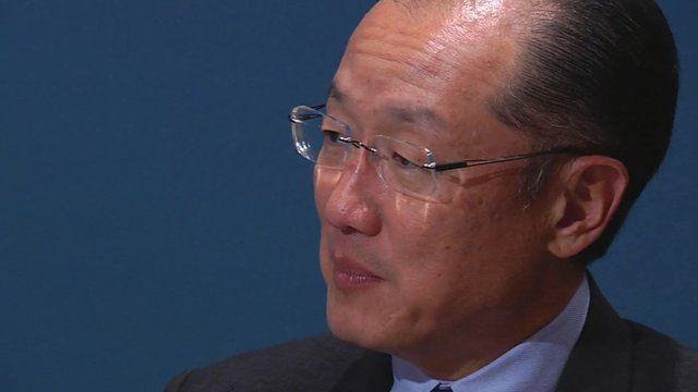 Dr. Jim Yong Kim, President of the World Bank Group