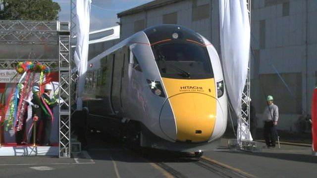 GWR's new trains unveiled at ceremony in Japan