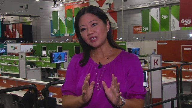 Linda Yueh, G20 Brisbane