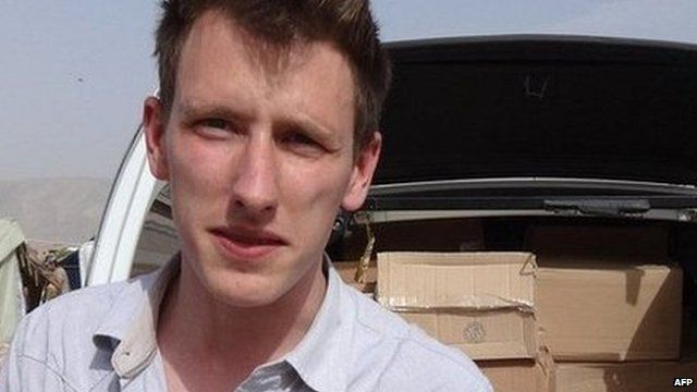 October 2014 handout picture of Peter Kassig