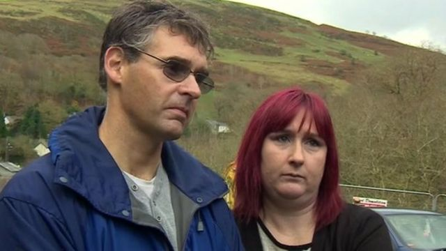"April's parents, Paul and Coral Jones, said April ""can now be free"" that Mark Bridger's home is gone"