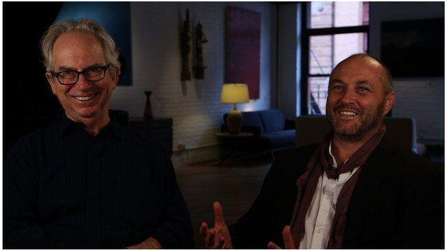 Peter Carey and Colum McCann