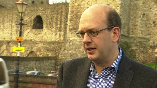 Mark Reckless speaking to the BBC's Norman Smith