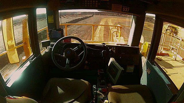 WATCH: The seven metre high mining truck driven by computer