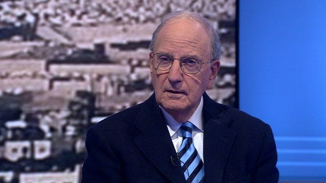 Former US Special Envoy for Middle East Peace, George Mitchell