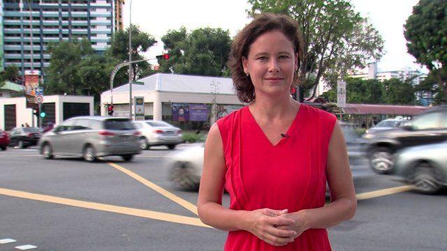 Charlotte Glennie in Singapore