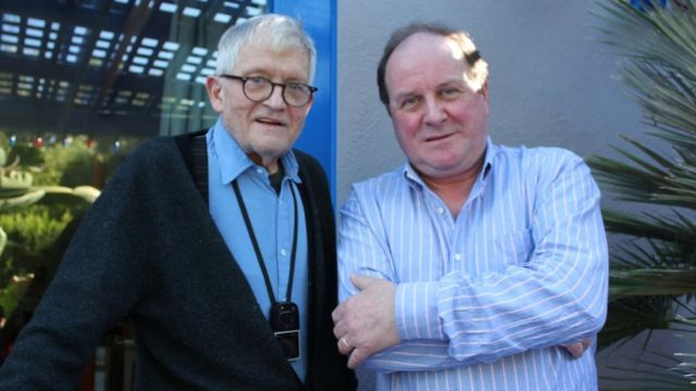 David Hockney and Today presenter James Naughtie