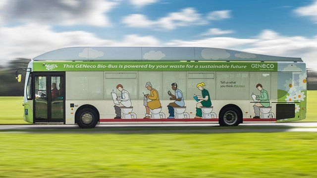 Bio-Bus on the road