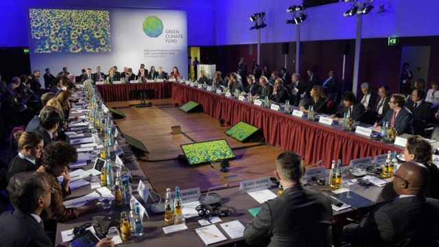 Green Climate Fund conference in Berlin