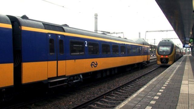 Trains in the Netherlands