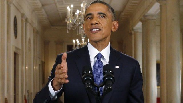U.S. President Barack Obama announces executive actions on U.S. immigration policy during a nationally televised address from the White House, November 20, 2014