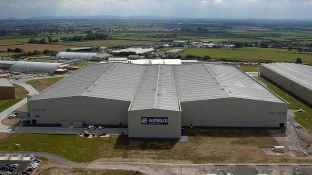 Airbus' North Factory, Broughton, Flintshire