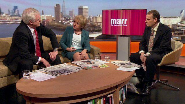 David Davis, Margaret Hodge, Andrew Marr