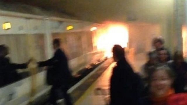 Charing Cross station fire