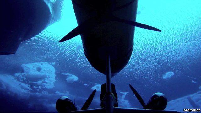Under water sub