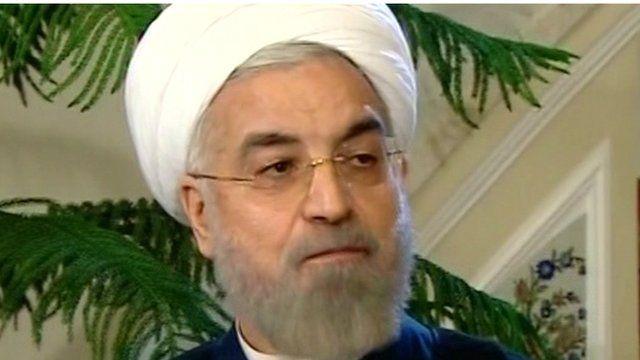 Hassan Rouhani, president of Iran
