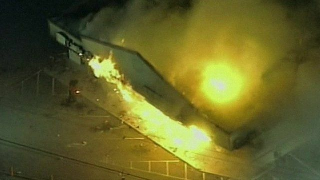 Pharmacy burns in Ferguson