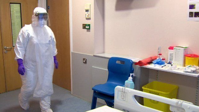Ebola ward