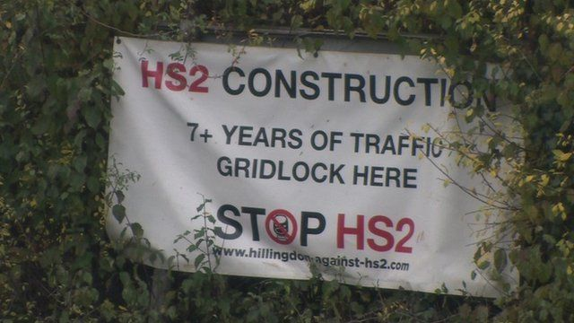 HS2 campaign poster