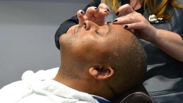 The BBC's Milton Nkosi says he now sees why more black men are taking better care of their skin