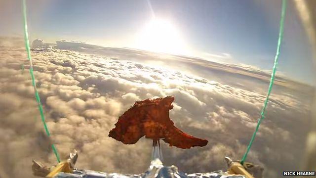 Lamb Chop in near space