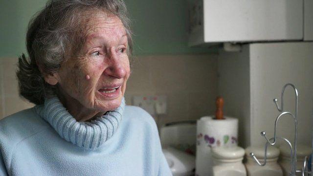 87 year-old Peggy Brydon