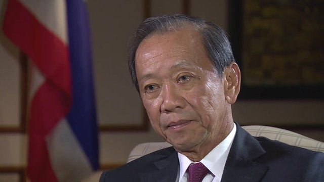 Thailand's Finance Minister Sommai Phasee