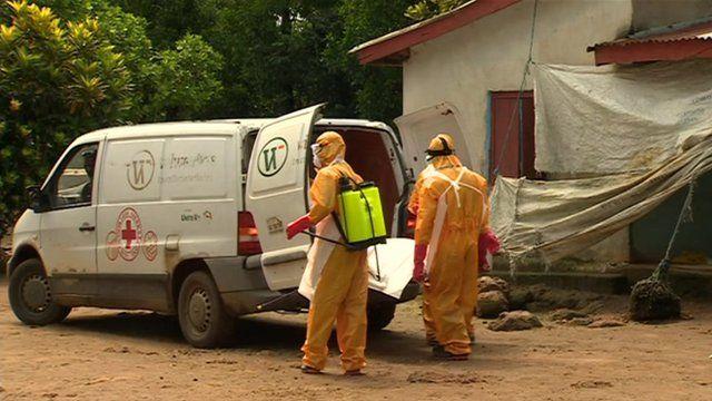 Ebola treatment squad