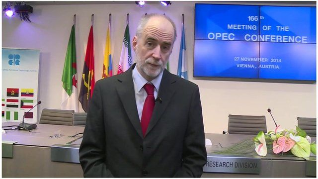 Andrew Walker at Opec