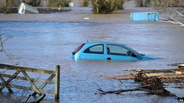 Somerset flooding