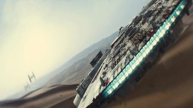 Star Wars: The Force Awakens trailer causes storm