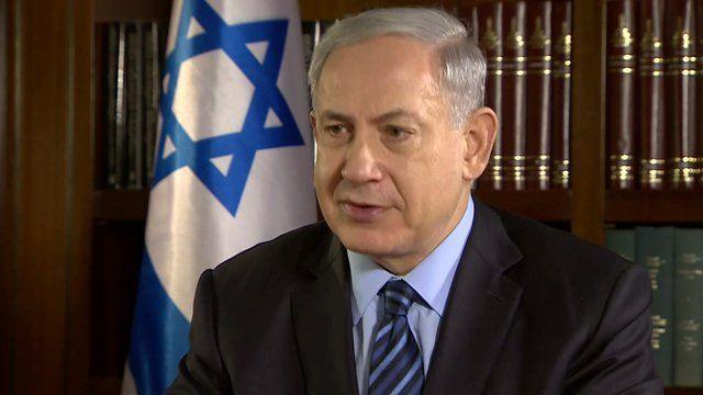 Prime Minister Benjamin Netanyahu speaks to Kevin Connolly